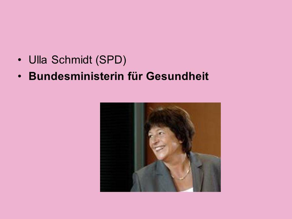 Ursula von der Leyen (CDU) Bundesministerin für Familie, Senioren, Frauen und Jugend