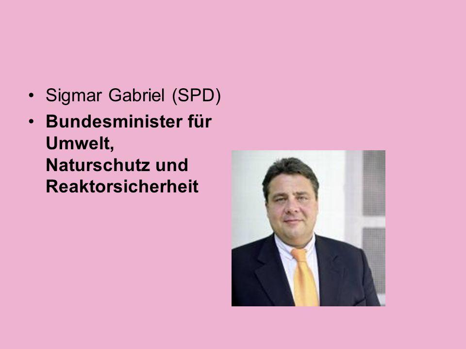 Wolfgang Tiefensee (SPD) Bundesminister für Verkehr, Bau und Stadtentwicklung sowie Beauftragter der Bundesregierung für die neuen Bundesländer