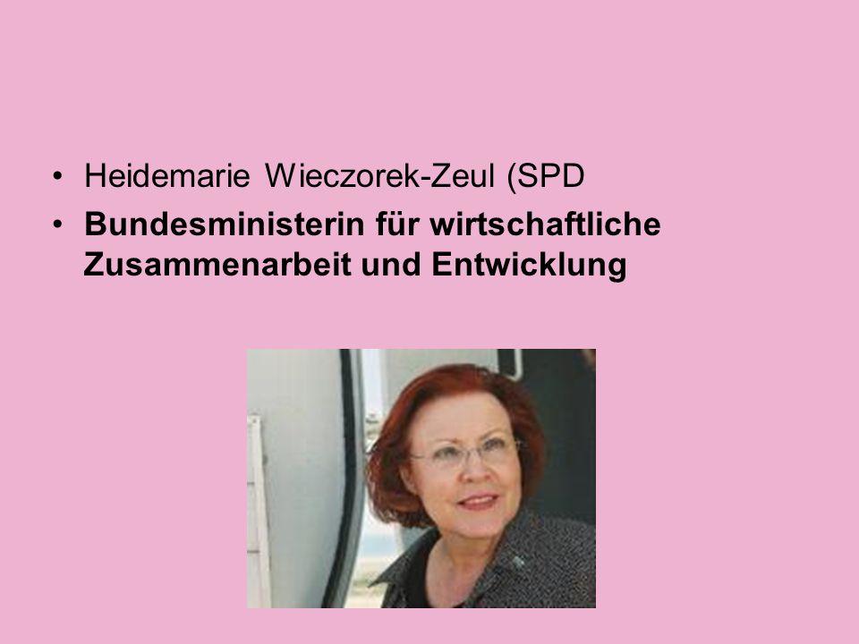 Annette Schavan (CDU Bundesministerin für Bildung und Forschung