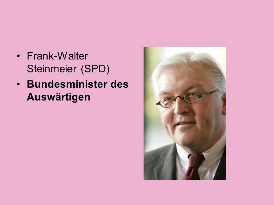 Franz Müntefering (SPD) Bundesminister für Arbeit und Soziales, Vizekanzler