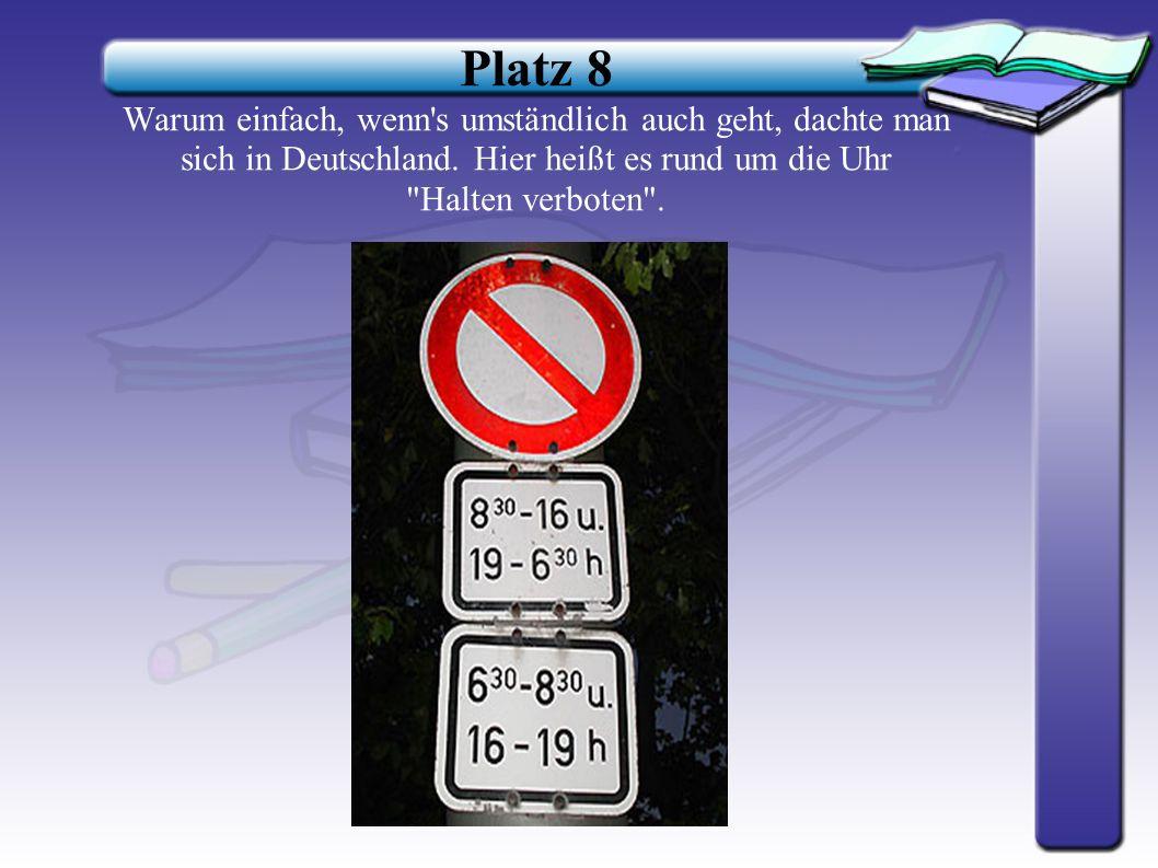 Platz 9 Österreich tut etwas für seinen Ruf als familienfreundliches Land. Deshalb gibt es hier ein eigenes Parkschild für Kinderwagen.