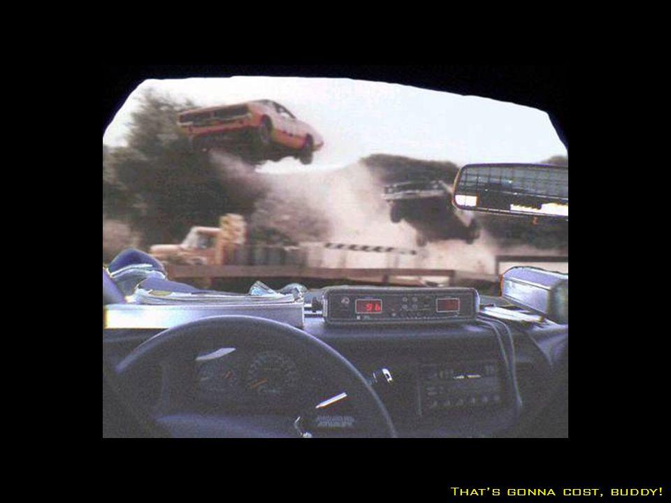 Speeding on the speedway…
