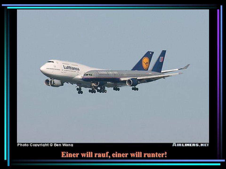 Was macht der Linien-Jet in unserem Luftraum?