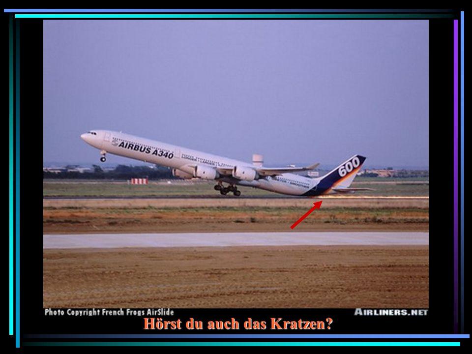 Achtung! Flugzeuge kreuzen!