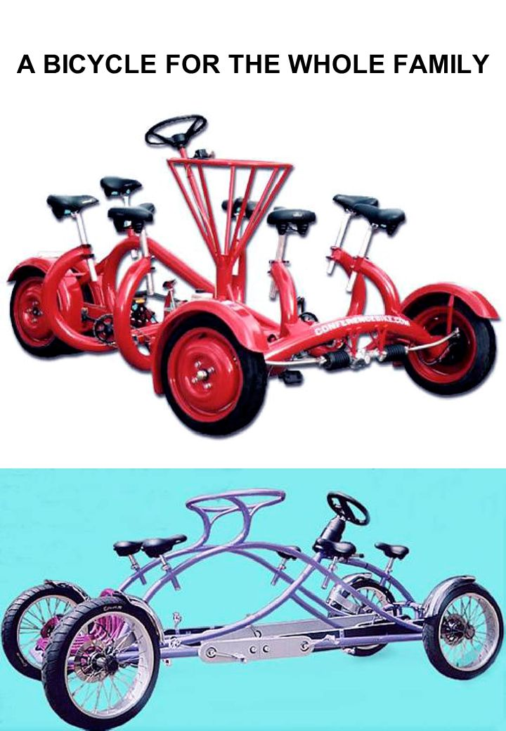 A BICYCLE FOR THE WHOLE FAMILY