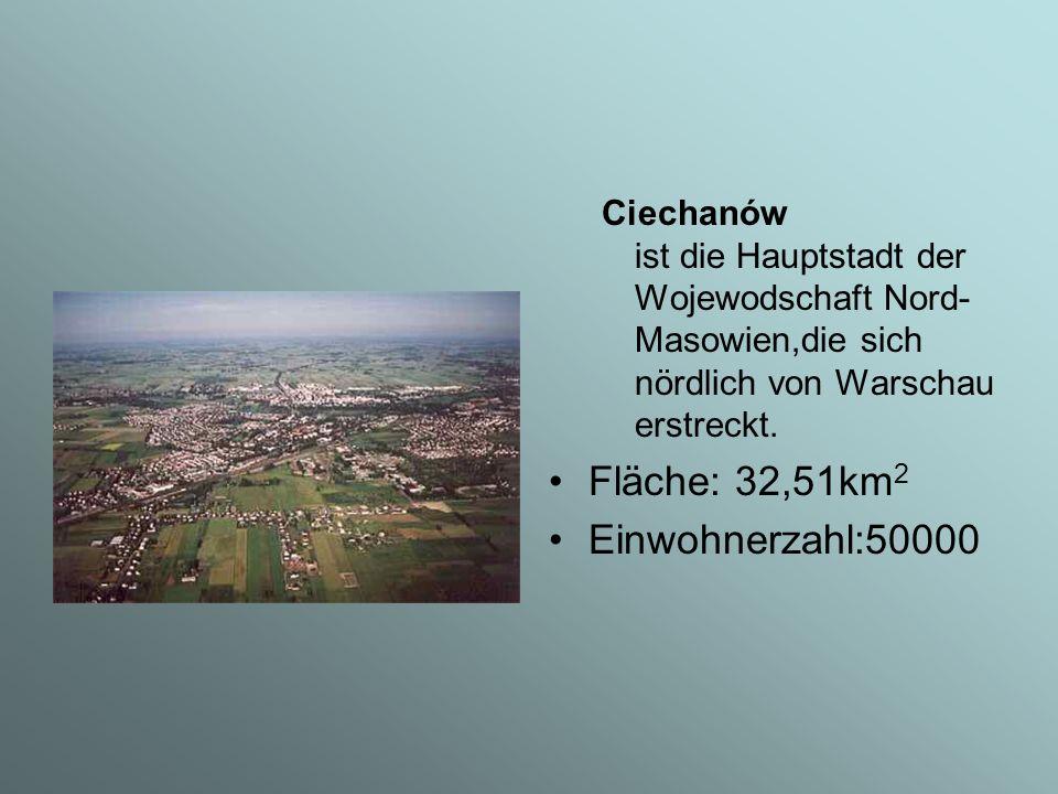 Sehenswürdigkeiten in Ciechanów