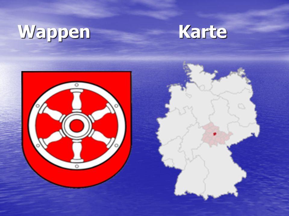 Wappen Karte