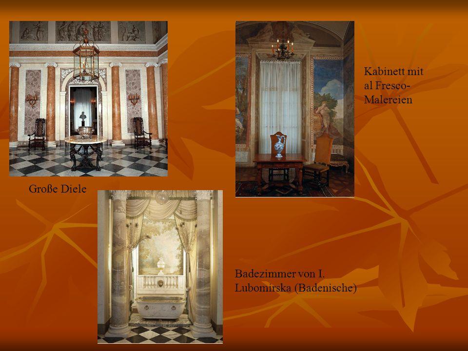 Łódź Historisches Museum, Palast von Israel Kalmanowicz Ponanski (Triade von Lodz) Historisches Museum, Palast von Israel Kalmanowicz Ponanski (Schlafzimmer) Historisches Museum, Palast von Israel Kalmanowicz Ponanski (Speisezimmer)