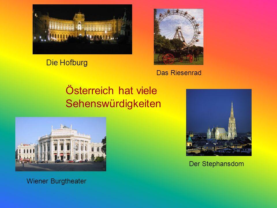 Österreich ist ein beliebtes Reiseziel für Touristen aus aller Welt, besonders aber für Deutsche. Der Tourismus ist die wichtigste Einnahmequelle für