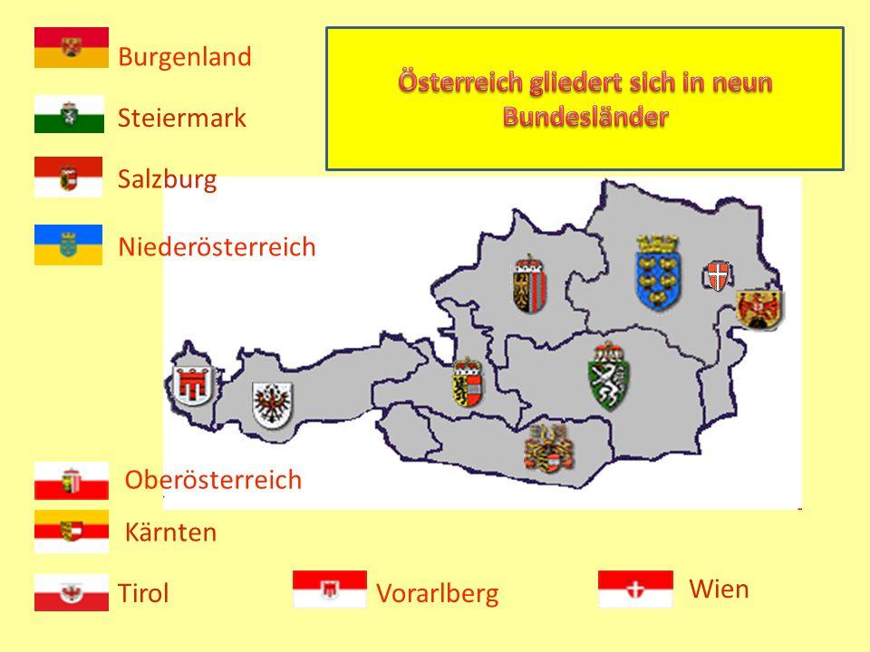 In Österreich gibt es 88 größere Seen und ein großes Netz von Flüssen und Bächen. Das Wasser ist das Lebenselement dieses Landes. Daher hat Österreich