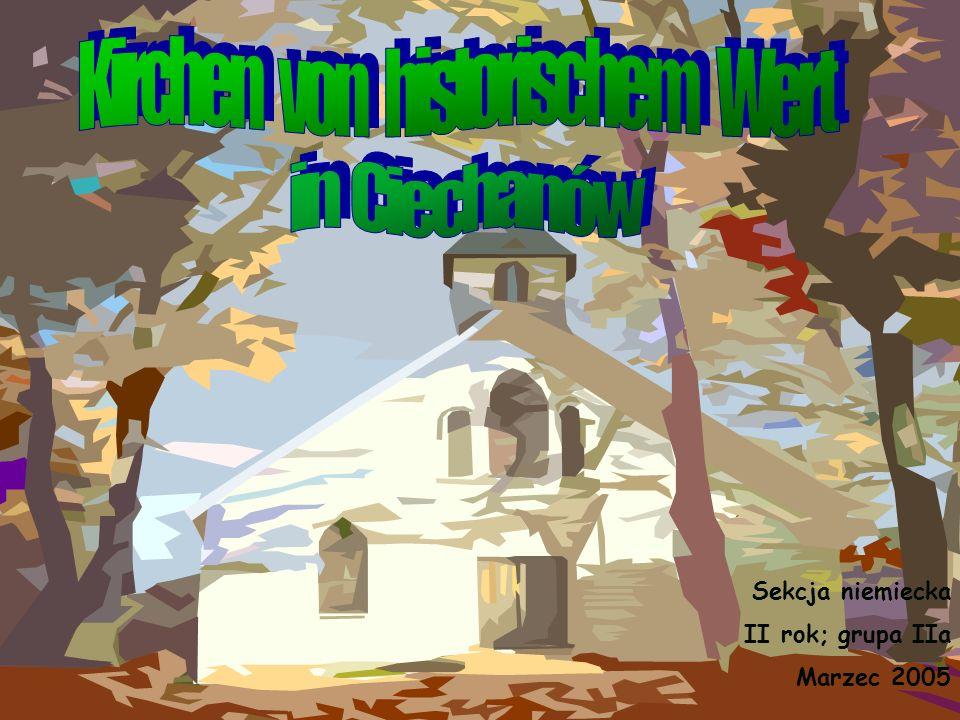 Sekcja niemiecka II rok; grupa IIa Marzec 2005