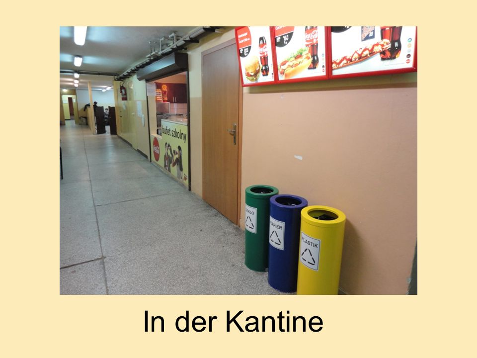 In der Kantine