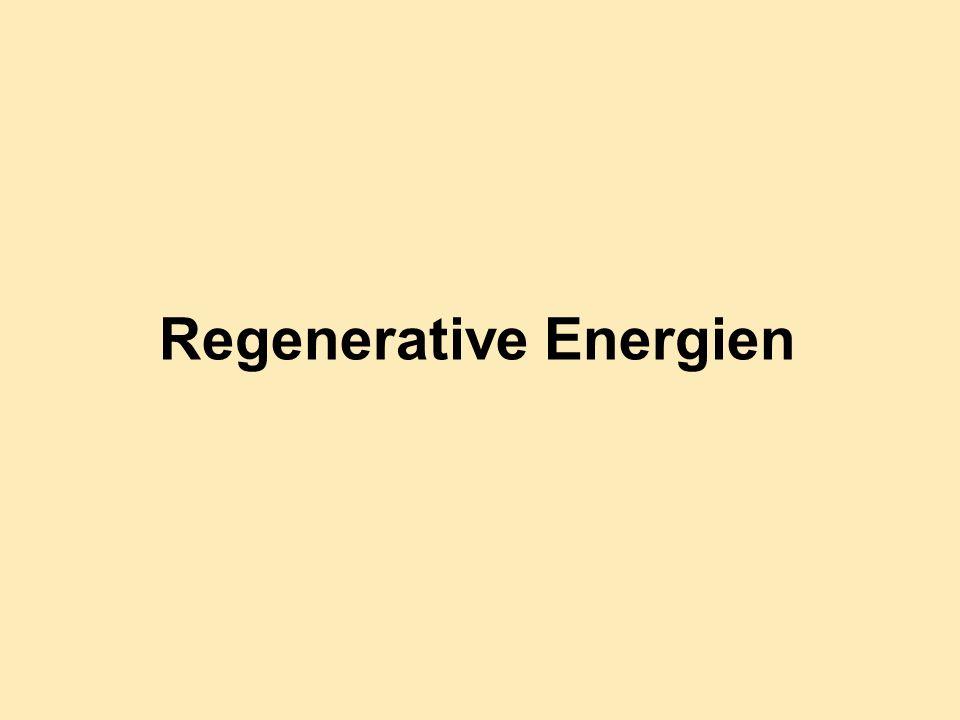 Regenerative Energien