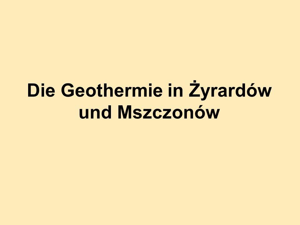 Die Geothermie in Żyrardów und Mszczonów