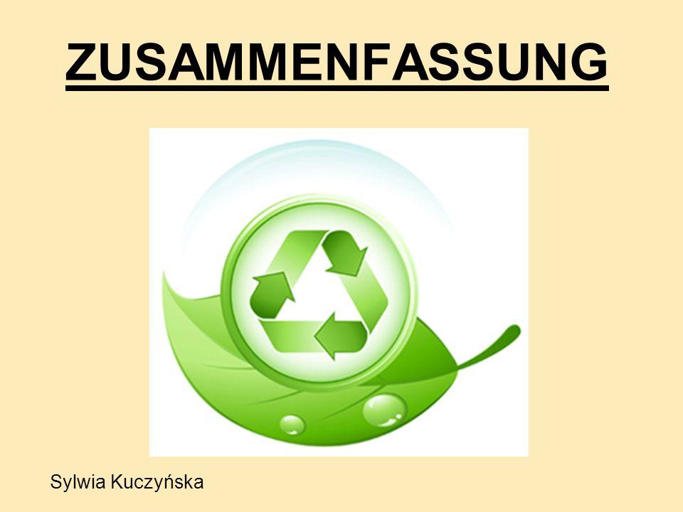 ZUSAMMENFASSUNG Sylwia Kuczyńska