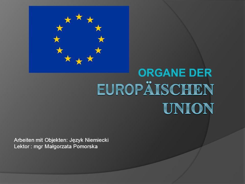 Das institutionelle Gefüge der EU ist seit ihren Anfängen 1952 im Wesentlichen konstant geblieben, allerdings veränderten sich die Kompetenzen der Organe im Einzelnen mehrmals.