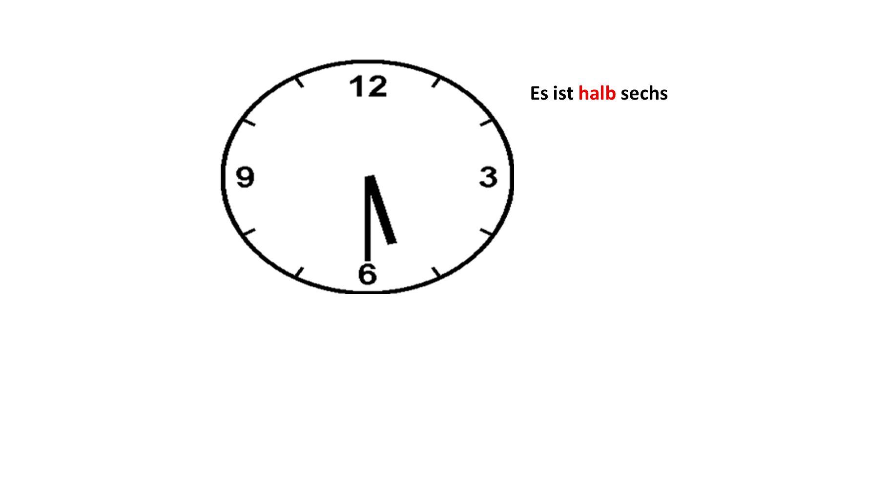 Es ist neunzehn Uhr siebzehn