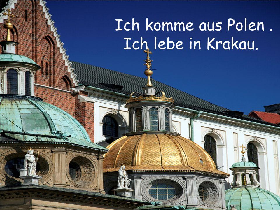 Ich komme aus Polen. Ich lebe in Krakau.