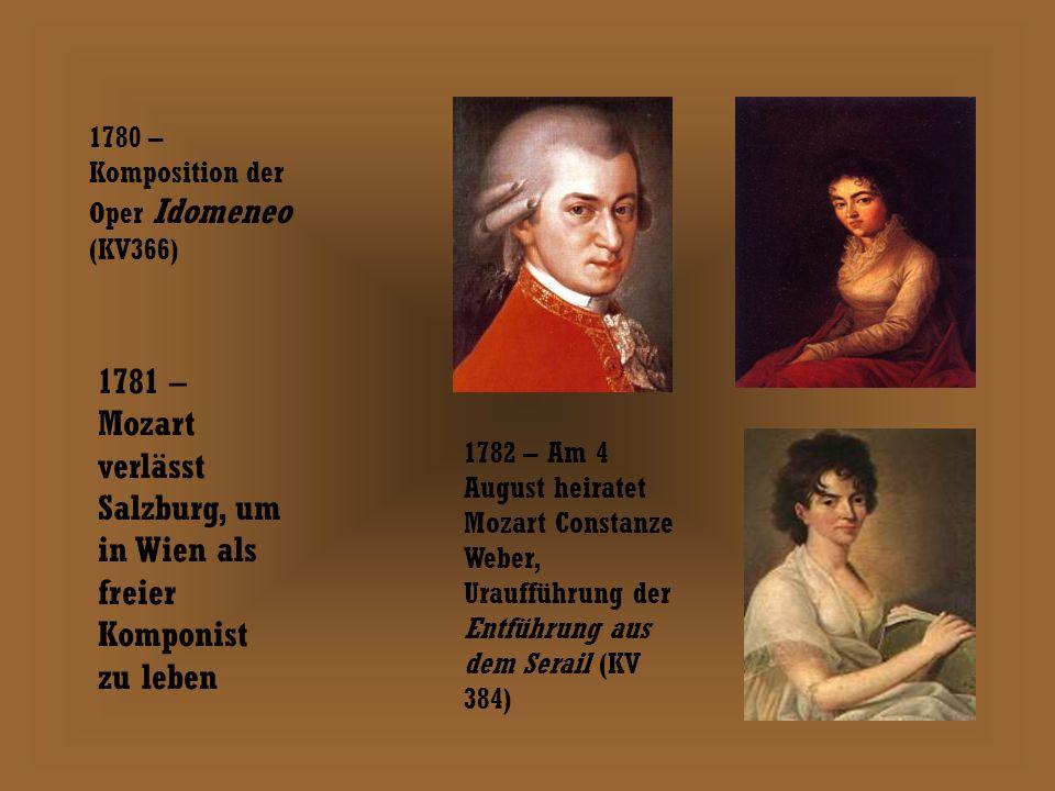 Leopold, Wolfgang und Maria Wolfgangs Mutter gest.