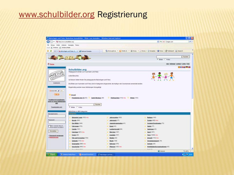 www.schulbilder.orgwww.schulbilder.org Registrierung
