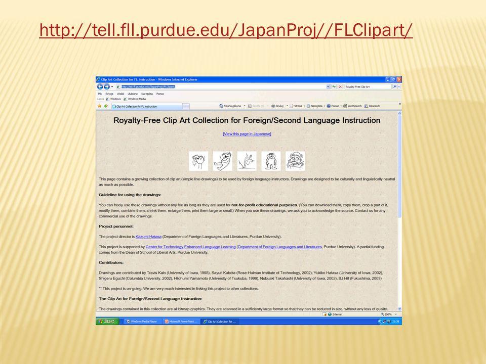http://tell.fll.purdue.edu/JapanProj//FLClipart/