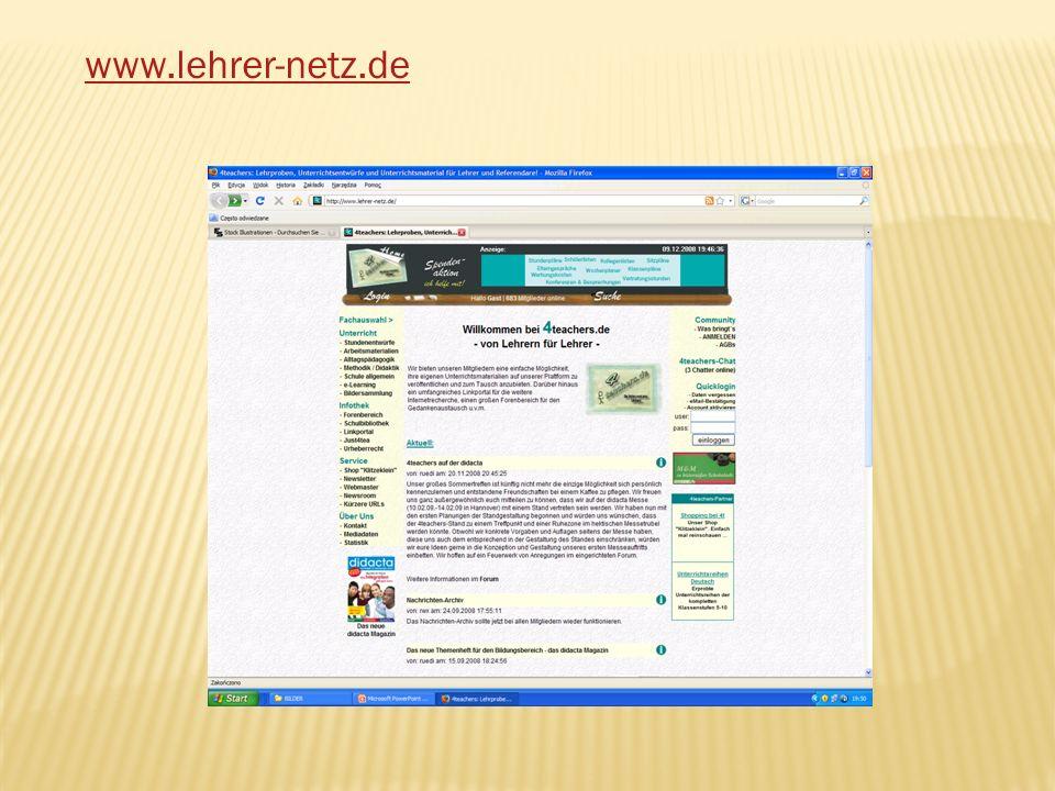 www.lehrer-netz.de