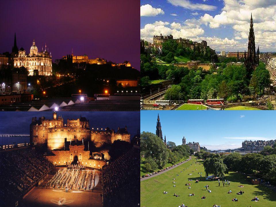 Seit 1437 ist Edinburgh die Hauptstadt von Schottland. Edinburgh hat etwa 436,000 Einwohner.