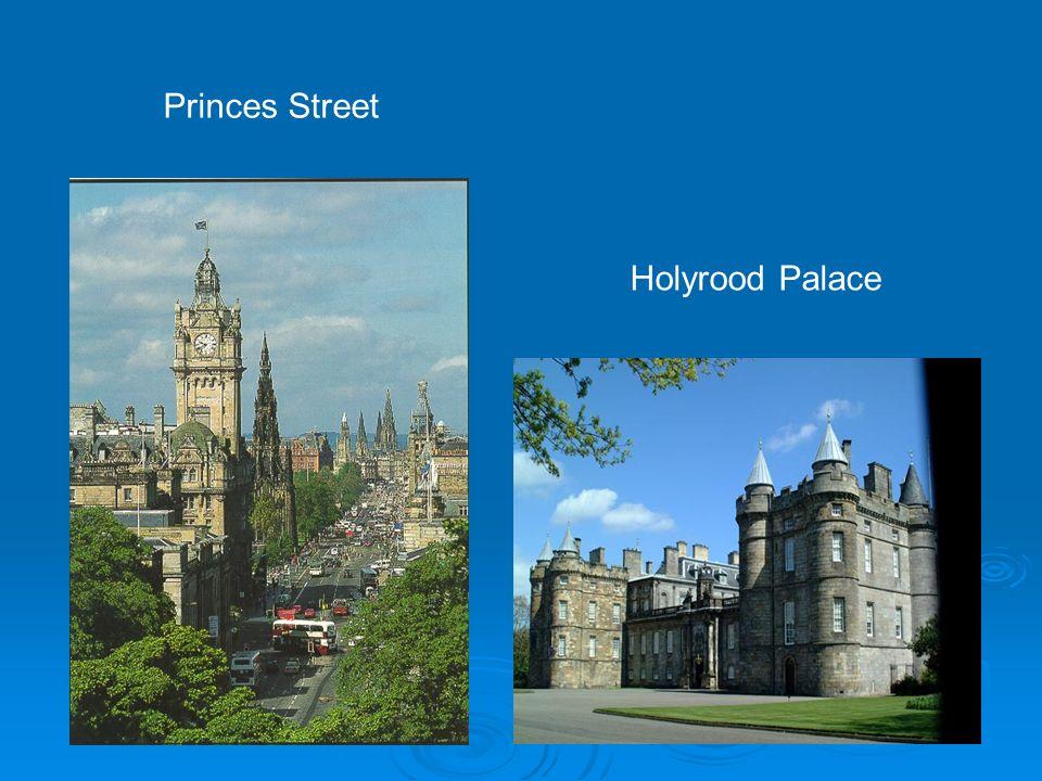 Holyrood Palace Princes Street