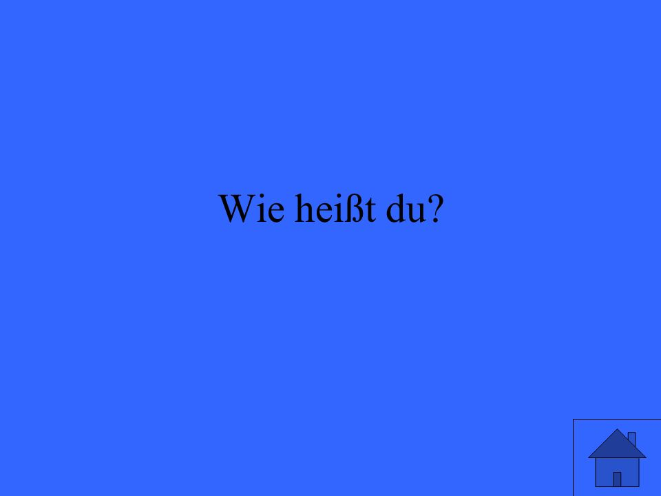 Which place is the verb in a German sentence?