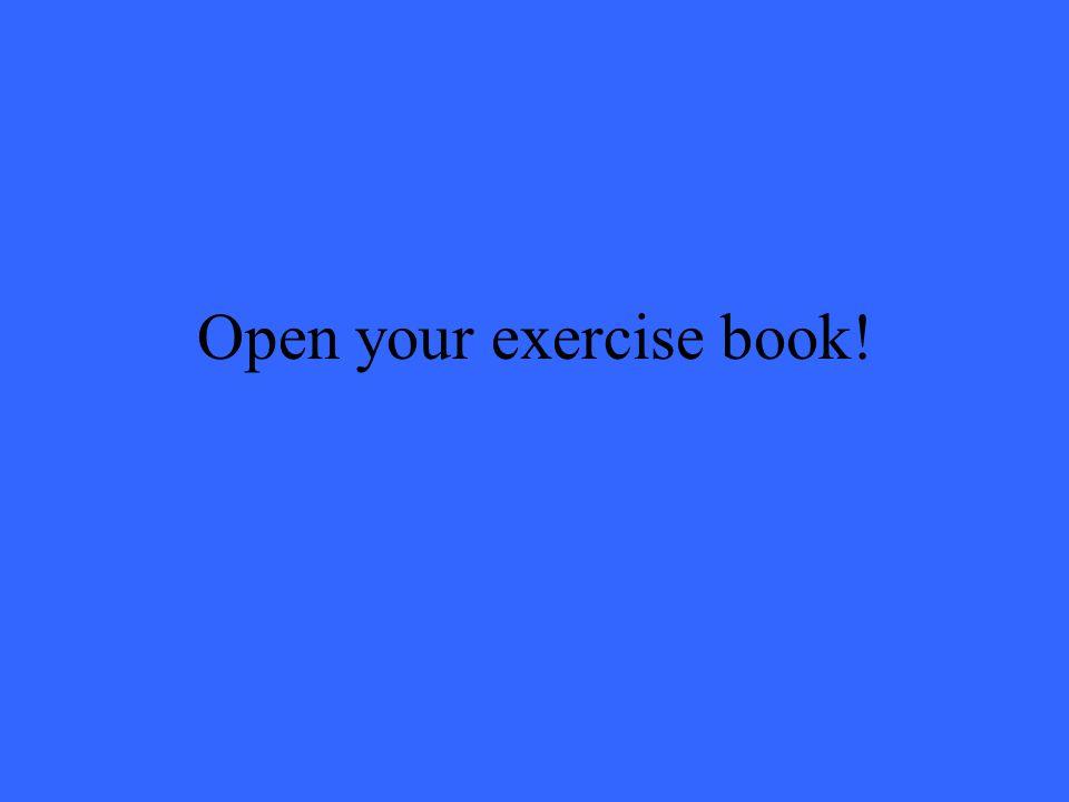 Macht das Heft auf!