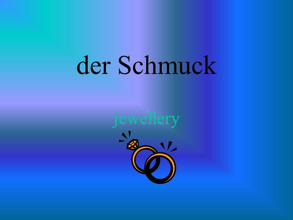der Schmuck jewellery