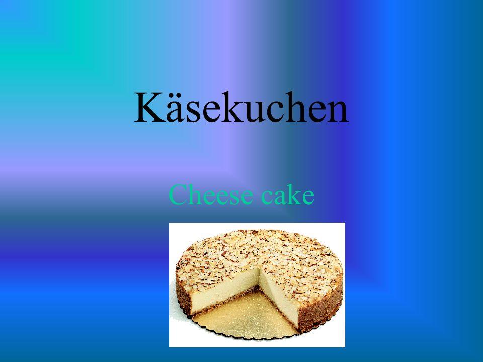 Käsekuchen Cheese cake