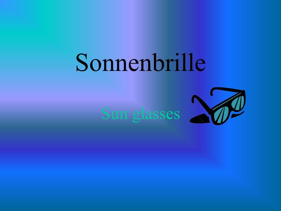 Sonnenbrille Sun glasses