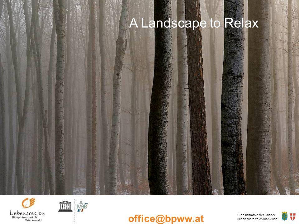 Eine Initiative der Länder Niederösterreich und Wien office@bpww.at www.bpww.at Some Partners of the BR Wienerwald