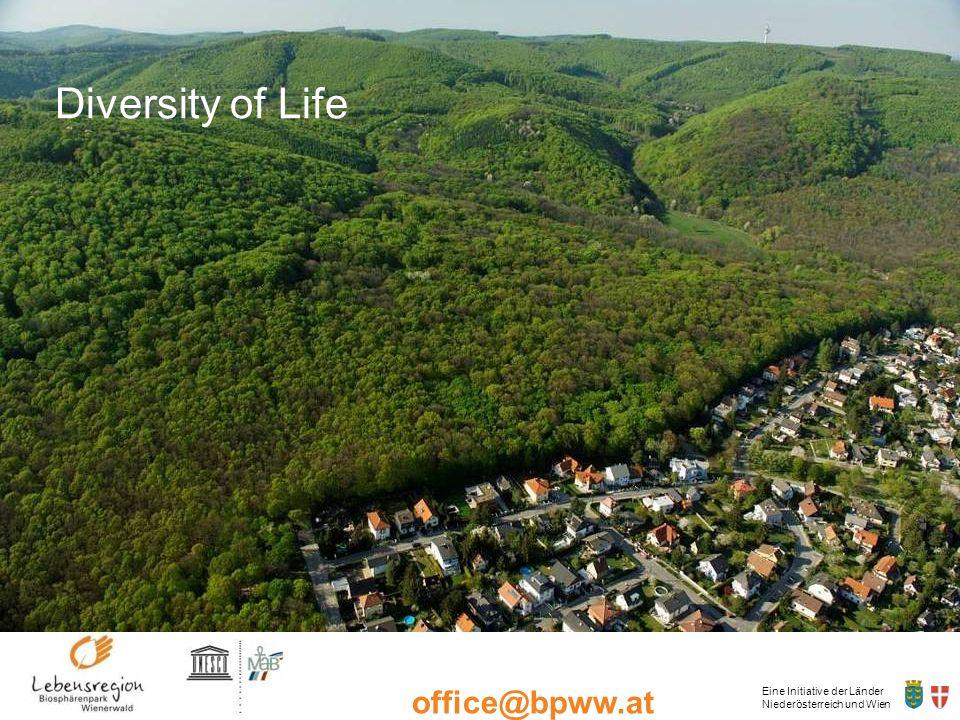 Eine Initiative der Länder Niederösterreich und Wien office@bpww.at www.bpww.at Thank You for Your attention Christian Diry Biosphärenpark Wienerwald Management Deutschwaldstraße 15/b 3002 Purkersdorf Tel: +43-2231-66804