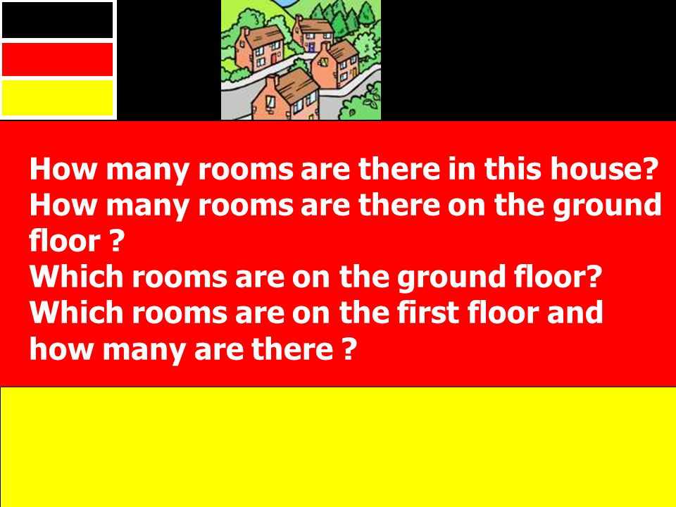 How many rooms are there in this house. How many rooms are there on the ground floor .