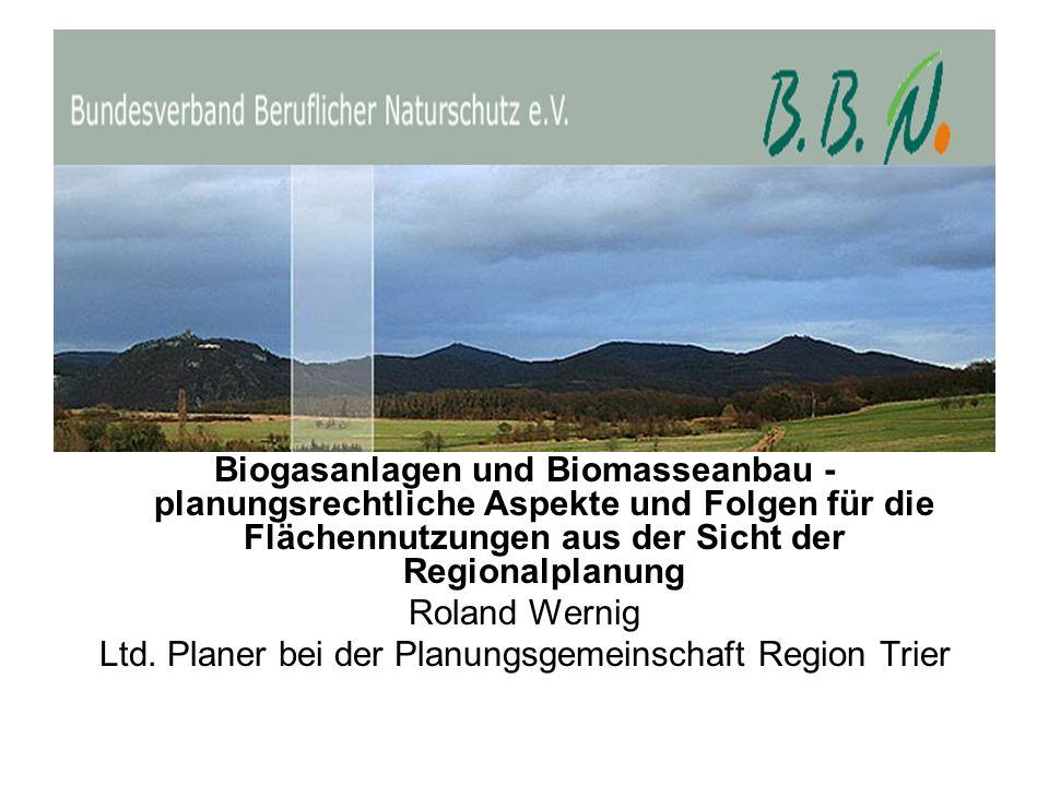 Einfluß landwirtschaftlicher Biomasseproduktion auf die Biodiversität der Agrarland-Avizönose.