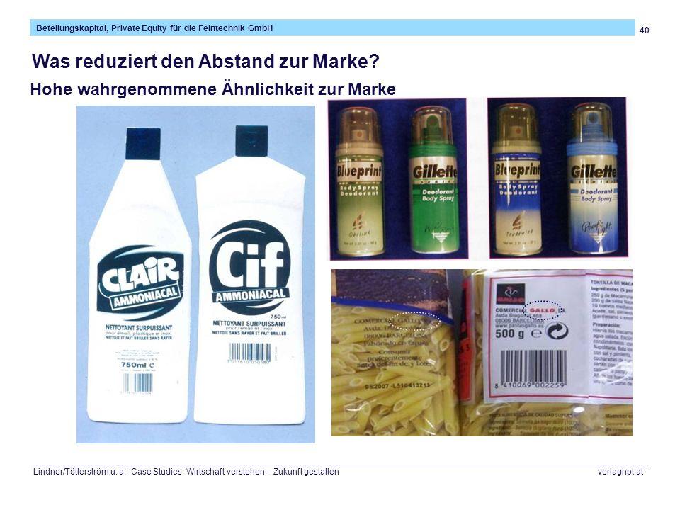 40 Beteilungskapital, Private Equity für die Feintechnik GmbH Lindner/Tötterström u. a.: Case Studies: Wirtschaft verstehen – Zukunft gestalten verlag