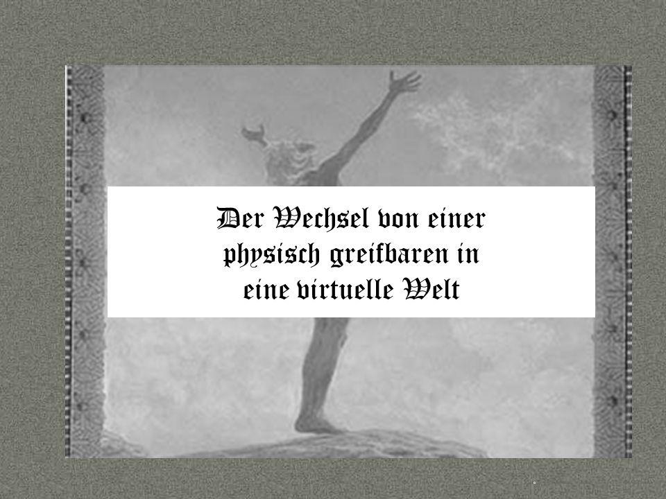 Sprache © Copyright PROJECT CONSULT GmbH 2002 / Autorenrecht Dr- Ulrich Kampffmeyer 2001-2002 © PROJECT CONSULT 2002 Der Wechsel von einer physisch greifbaren in eine virtuelle Welt