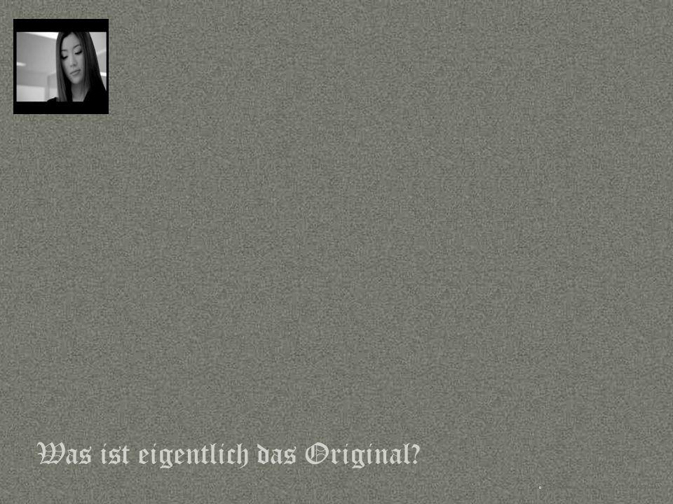 Sprache © Copyright PROJECT CONSULT GmbH 2002 / Autorenrecht Dr- Ulrich Kampffmeyer 2001-2002 © PROJECT CONSULT 2002 Was ist eigentlich das Original?