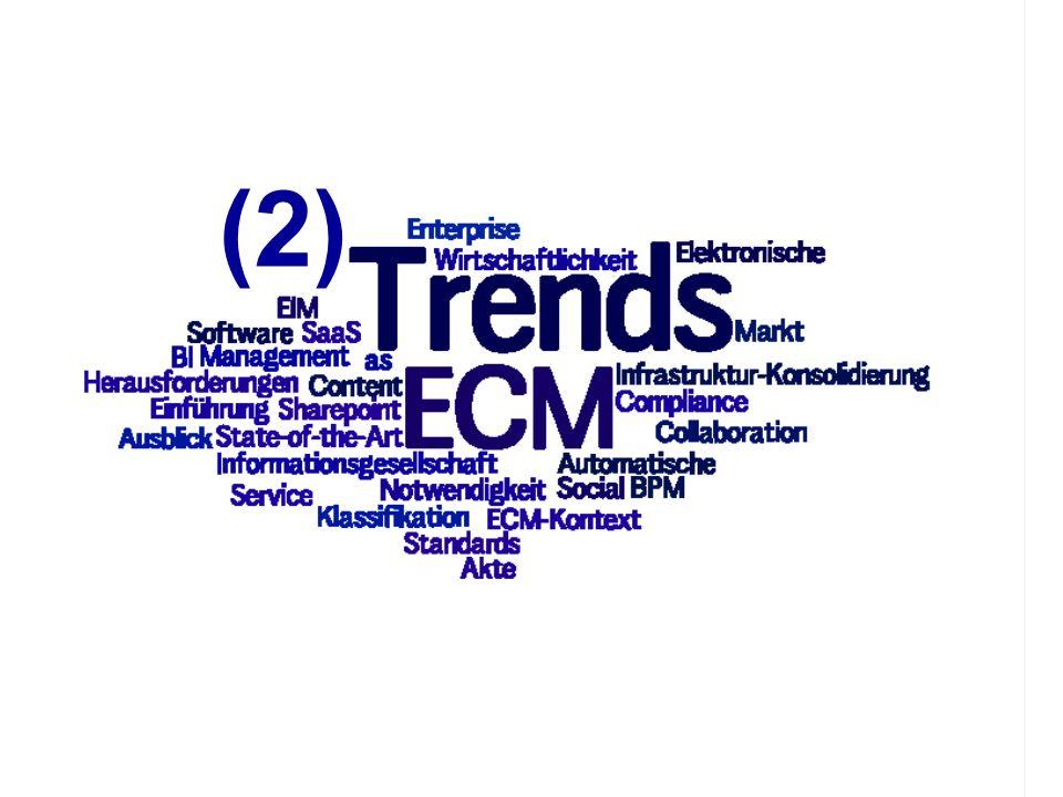 12 ECM Trends 2010 COI GmbH Dr. Ulrich Kampffmeyer PROJECT CONSULT Unternehmensberatung Dr. Ulrich Kampffmeyer GmbH Breitenfelder Straße 17 20251 Hamb