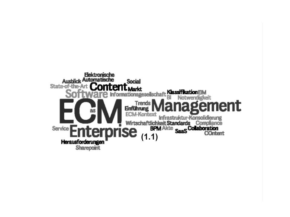 5 ECM Trends COI GmbH Dr. Ulrich Kampffmeyer PROJECT CONSULT Unternehmensberatung Dr. Ulrich Kampffmeyer GmbH Breitenfelder Straße 17 20251 Hamburg ww