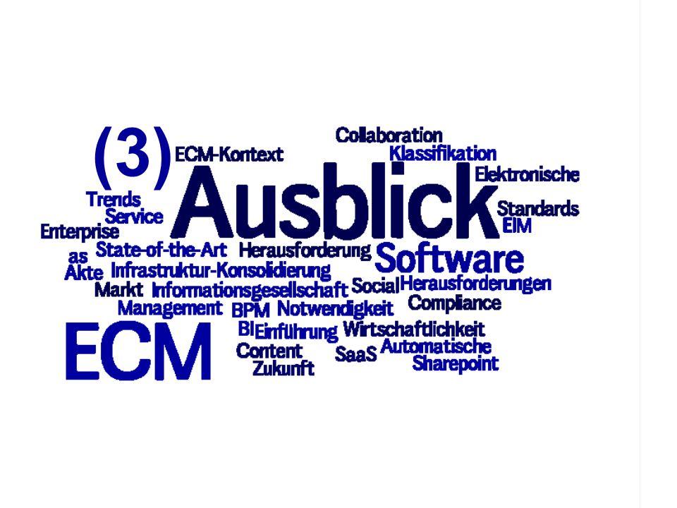 78 ECM Trends 2010 COI GmbH Dr. Ulrich Kampffmeyer PROJECT CONSULT Unternehmensberatung Dr. Ulrich Kampffmeyer GmbH Breitenfelder Straße 17 20251 Hamb