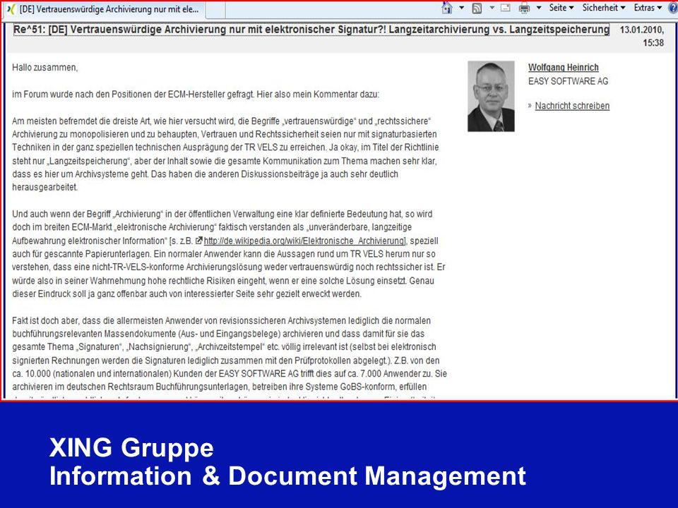 112 Schleupen Partnerkonferenz Berlin 16.01.2010 Ulrich Kampffmeyer ECM zwischen Compliance und Wirtschaftlichkeit PROJECT CONSULT Unternehmensberatung Dr.