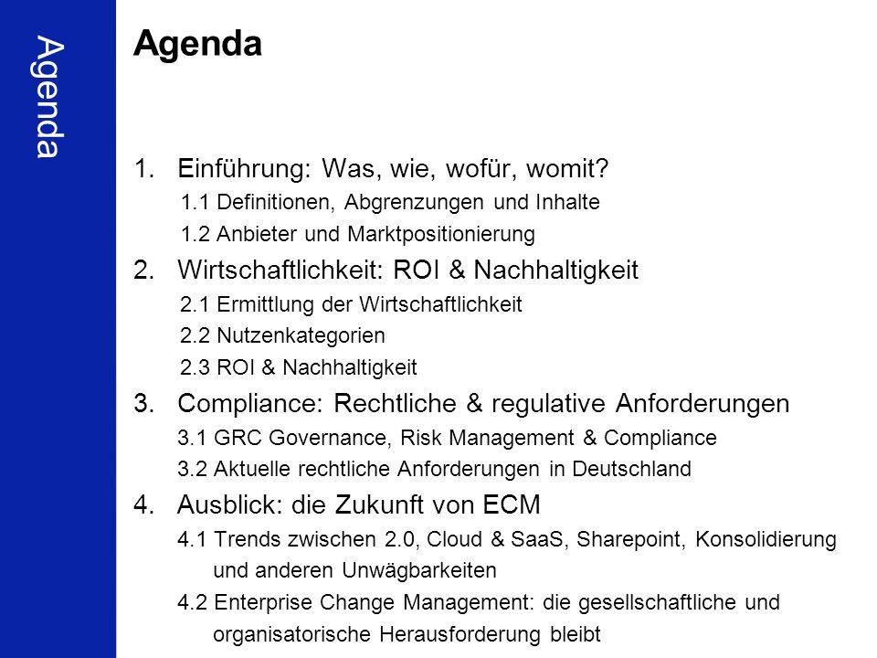 2 Schleupen Partnerkonferenz Berlin 16.01.2010 Ulrich Kampffmeyer ECM zwischen Compliance und Wirtschaftlichkeit PROJECT CONSULT Unternehmensberatung