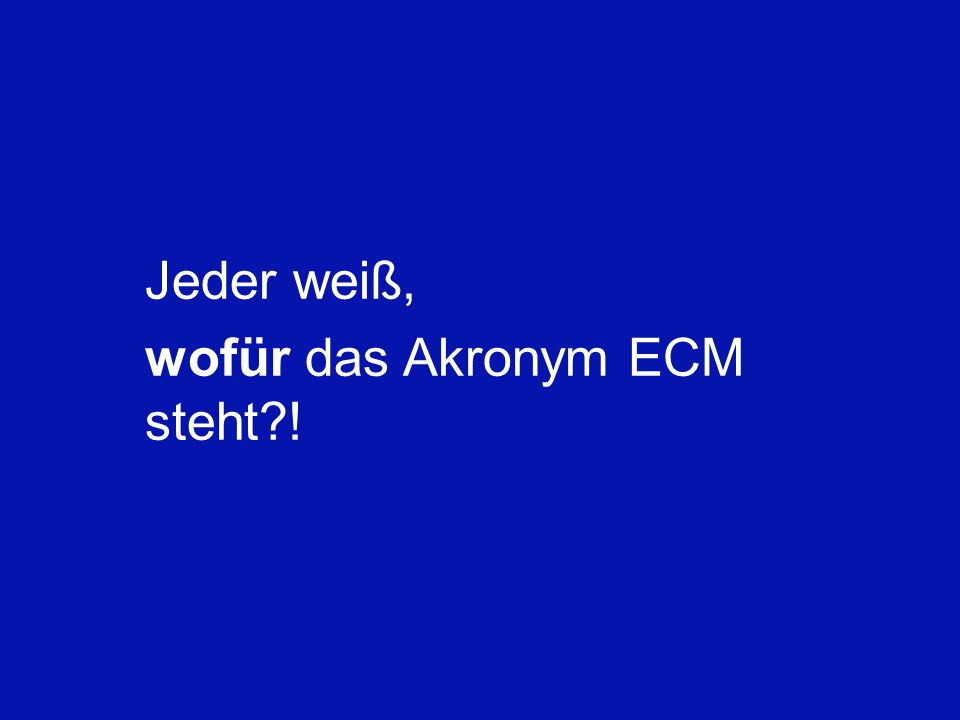 6 Schleupen Partnerkonferenz Berlin 16.01.2010 Ulrich Kampffmeyer ECM zwischen Compliance und Wirtschaftlichkeit PROJECT CONSULT Unternehmensberatung
