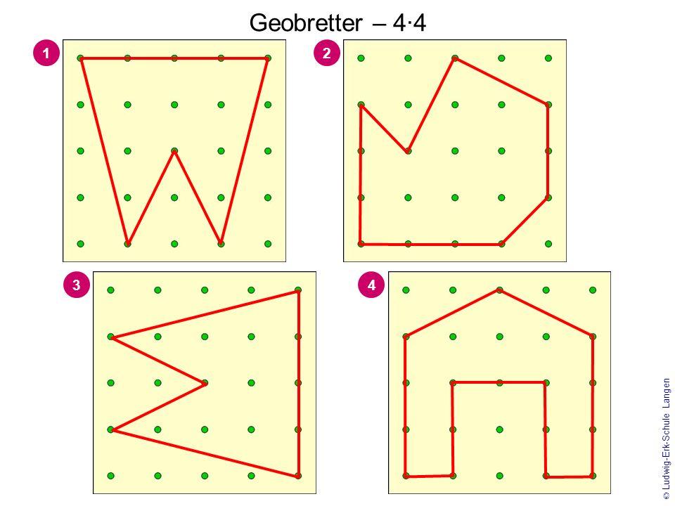© Ludwig-Erk-Schule Langen Geobrett – 5·5