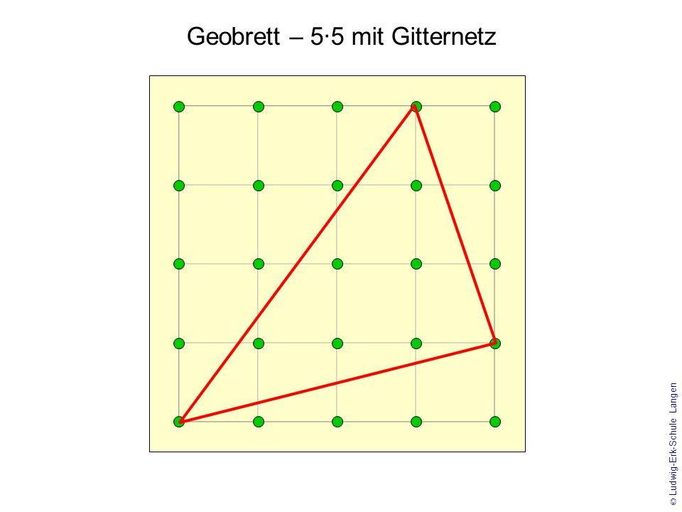 © Ludwig-Erk-Schule Langen Geobrett – 4·4 / Achsenspiegelung