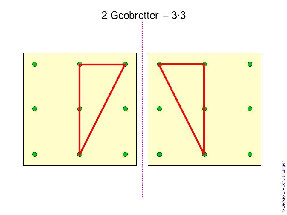 © Ludwig-Erk-Schule Langen 2 Geobretter – 4·4