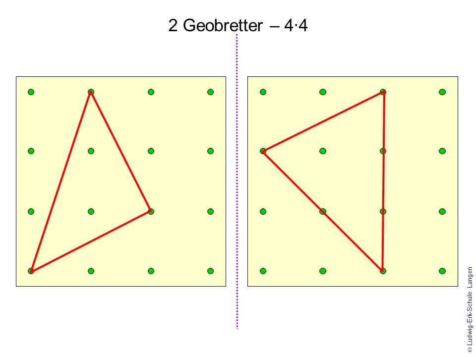 1 2 3 4 5 6 © Ludwig-Erk-Schule Langen Geobretter – 3·3